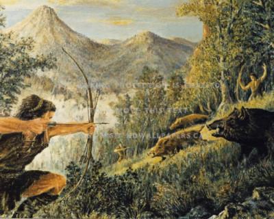 Исследования американских ученых перевернули представления о жизни первобытных людей