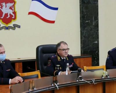 Начальнику МВД в Крыму присвоили звание генерал-лейтенанта полиции