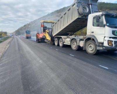 В Севастополе завершен ремонт почти 80 дорожных участков
