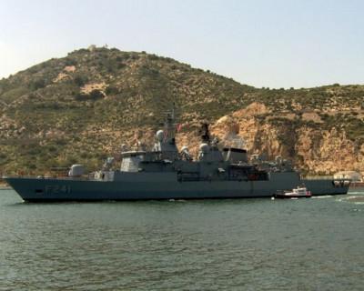 Корабли НАТО разместились в черноморском порту