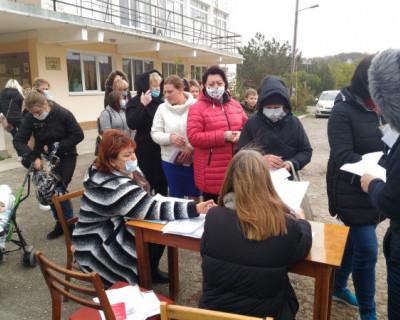 Гуманитарная помощь многодетным семьям Верхнесадового от «Севастопольских мам»