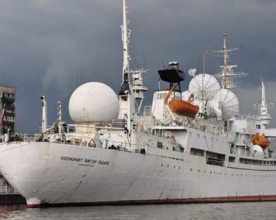 Единственное в России судно космической связи медленно догнивает в Калининграде