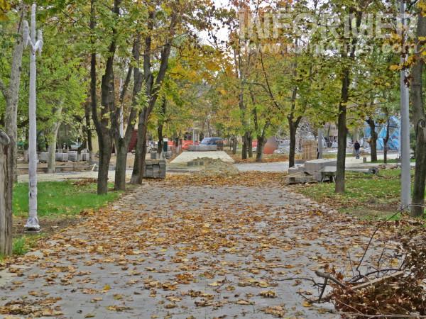 реконструкция парка Байды
