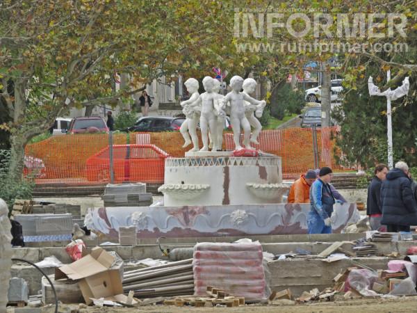 Как проходит реконструкция парка им. М. Байды в Севастополе