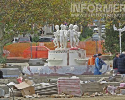 Как проходит реконструкция парка им. М.Байды в Севастополе (ФОТО)