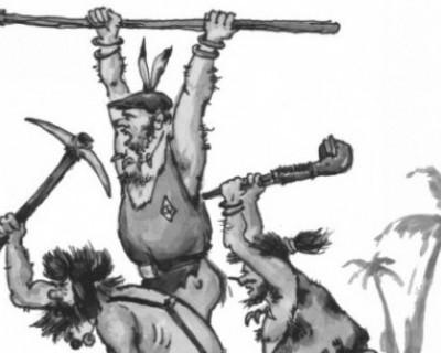 Херсонесская истерика в Севастополе. Дикари (часть 3)