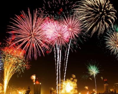 График празднования новогодних торжеств в России