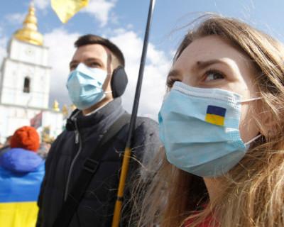На Украине начали штрафовать за отсутствие масок
