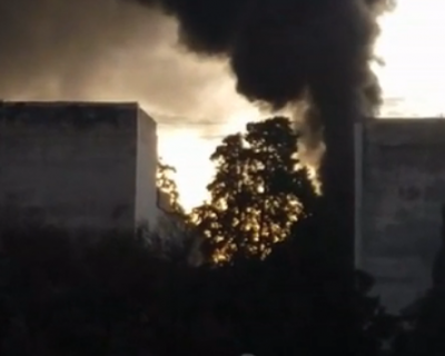 В Ялте загорелось подсобное помещение в поликлинике