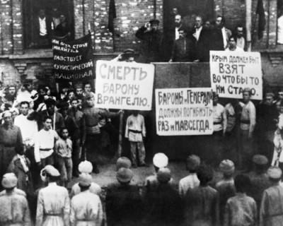 В Севастополе открылась выставка, посвященная 100-летию со дня окончания Гражданской войны в России