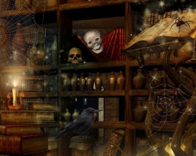 В Великобритании нашли ведьмин тайник