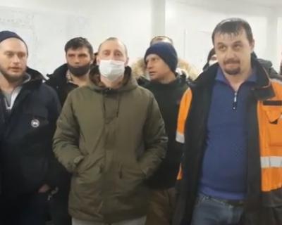 В Якутии забастовали рабочие (ВИДЕО)
