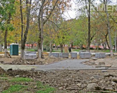 Севастопольский подрядчик не смог реконструировать парк имени Марии Байды к 1 декабря