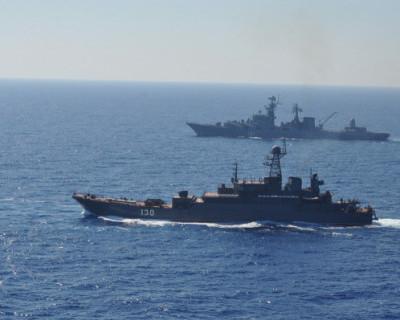 На кораблях ЧФ РФ в Средиземном море начался новый учебный год