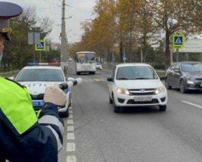 В Севастополе ловили пешеходов-нарушителей