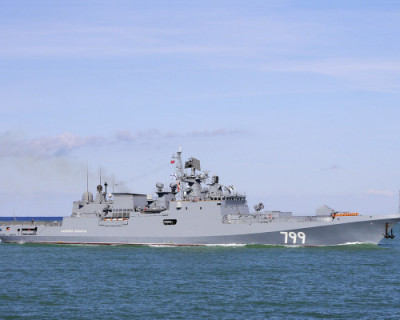 Весь корабельный состав Черноморского флота вышел в море