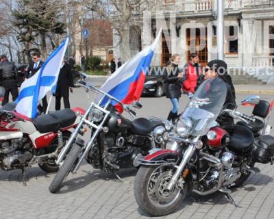 «Ночные Волки». Севастополь. 16 марта