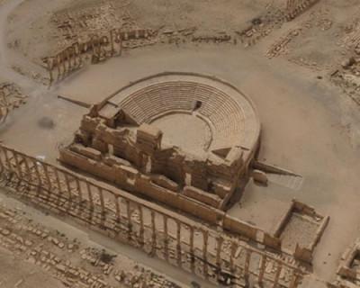 В СевГу сделали 3D-макет древнего сирийского города Пальмира