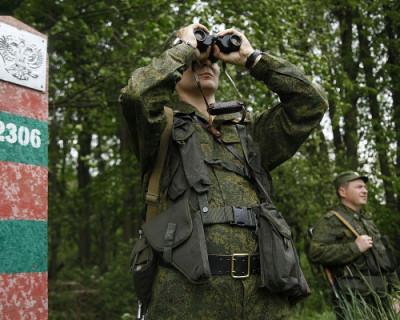 Перестрелка на границе Украины и России