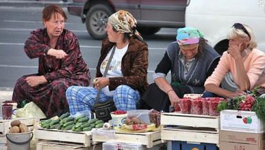 Сага о нелегальной рыночной торговле в Севастополе