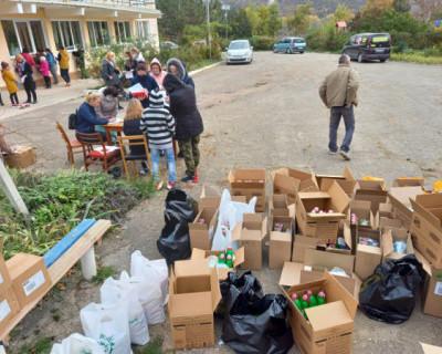 Более двухсот семей получили помощь от «Севастопольских мам»