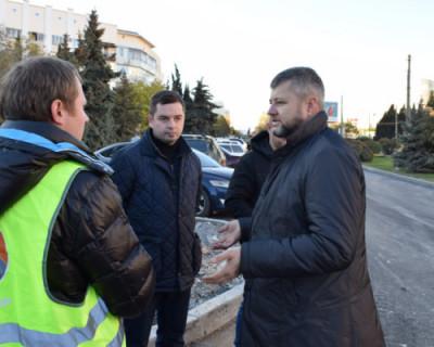 В Севастополе продолжаются работы по ремонту дорог