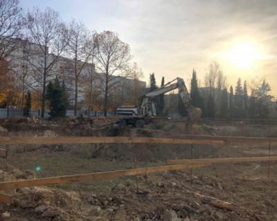 «ИнтерСтрой» начал строить новый детский садик в Ленинском районе Севастополя