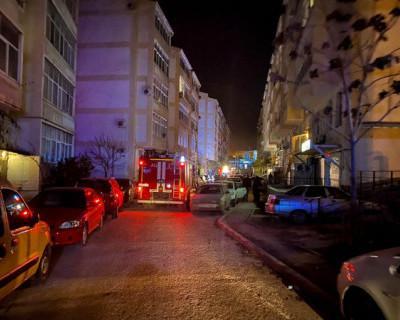 Ночью в Севастополе горела квартира