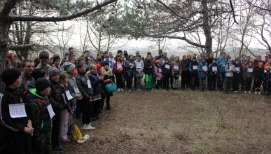 Детвора Севастополя взяла Сапун-гору (фото, видео)
