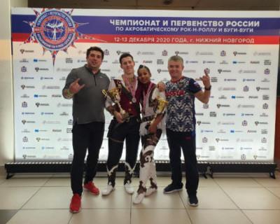 Севастопольцы стали серебряными призерами Чемпионата России по акробатическому рок-н-роллу