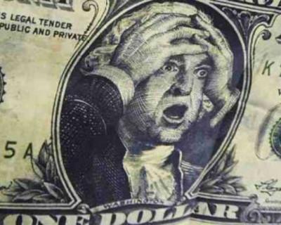 Доллар, давай, до свидания!