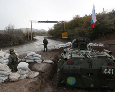 Российские миротворцы попали в окружение в Нагорном Карабахе