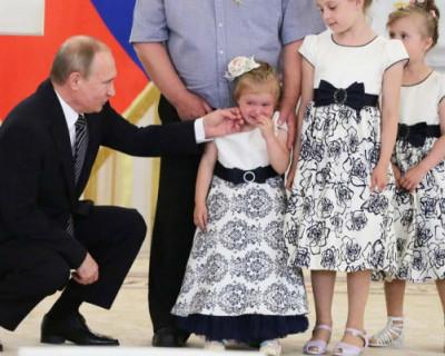 Владимир Путин рассказал о новых выплатах на детей в 2021 году