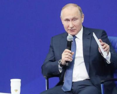 Путин посетовал на то, что страны Запада не допускают Россию к делу об отравлении Навального