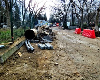 Почему остановлена реконструкция Исторического бульвара в Севастополе?