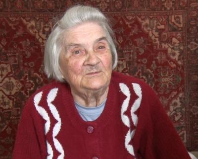 Заслуженный учитель Клавдия Великохатская отметила 90-летие