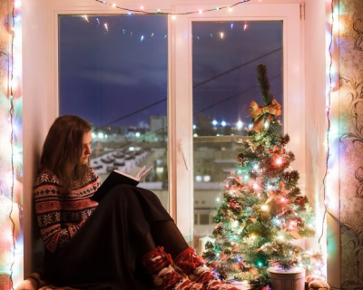 Новый год в окнах Севастополя