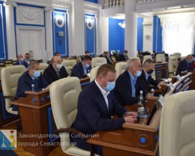 Чем депутаты Заксобрания Севастополя весь 2020 год занимались? Особо и вспомнить нечего…
