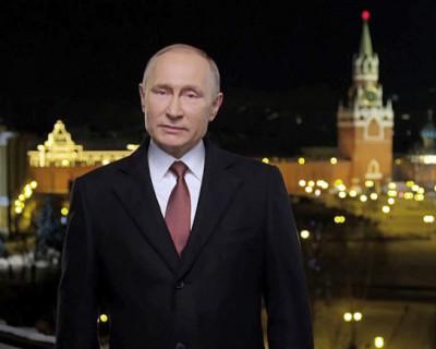 72% россиян встретят Новый год «вместе с Путиным»