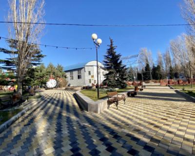 В Севастополе завершилось благоустройство сквера БРУ им. Горького