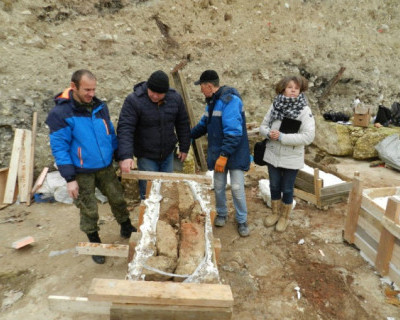 «Херсонес Таврический» принял на хранение античную печь