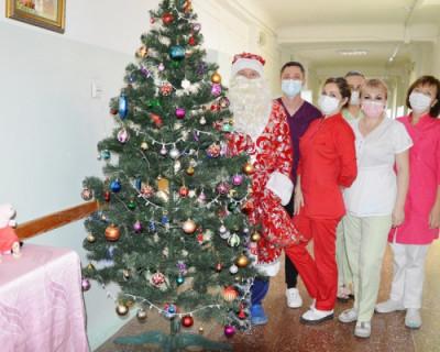 Как проходит Новый год в детской больнице Севастополя (ФОТО)