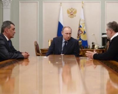 Сергей Меняйло и Алексей Чалый сегодня на совещании у Президента РФ (видео)