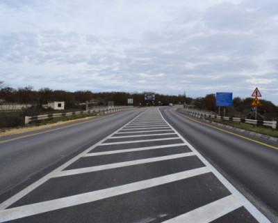 В Севастополе отремонтировали 16 километров трассы