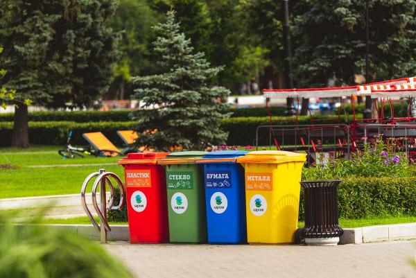 В Симферополе вводят систему раздельного сбора мусора