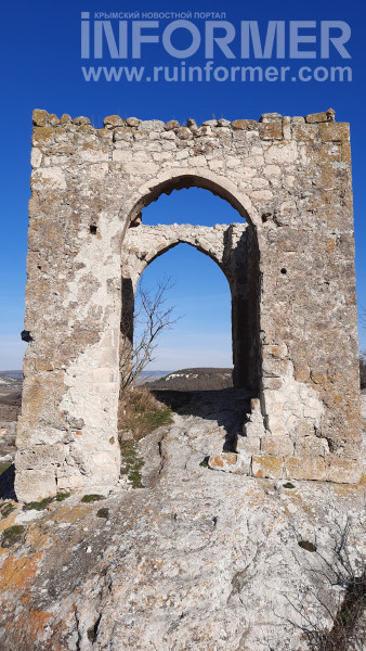 Девичья башня крым