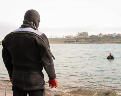 В Севастополе обследовали морское дно перед крещенскими купаниями