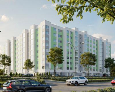 Современный 9-этажный жилой дом «Ореховый» в Севастополе от «ИнтерСтрой»