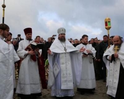 Праздник Крещения Господня в Херсонесе