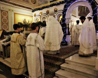 Как отметили Крещение в Херсонесе
